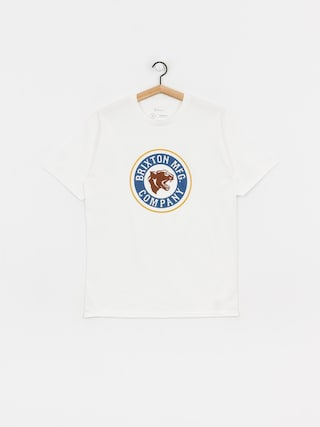 Brixton Forte Stt T-shirt (white/brown)