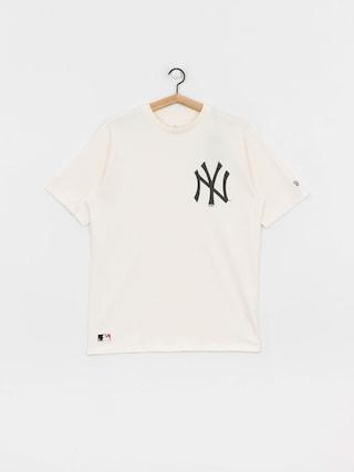 New Era Mlb Big Logo Oversized New York Yankees T-shirt (sfp)