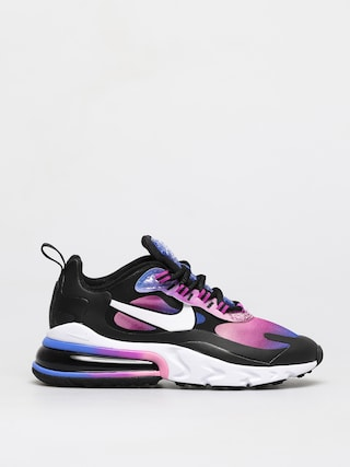 Nike Air Max 270 React Se Shoes Wmn (hyper blue/white magic flamingo)