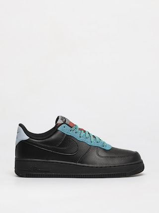Nike Air Force 1 07 Lv8 Shoes (black/black obsidian mist cool grey)