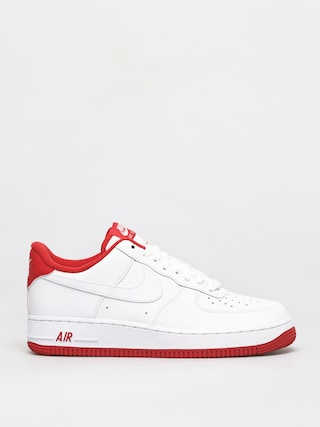 Nike Air Force 1 07 1 Shoes (white/university red)
