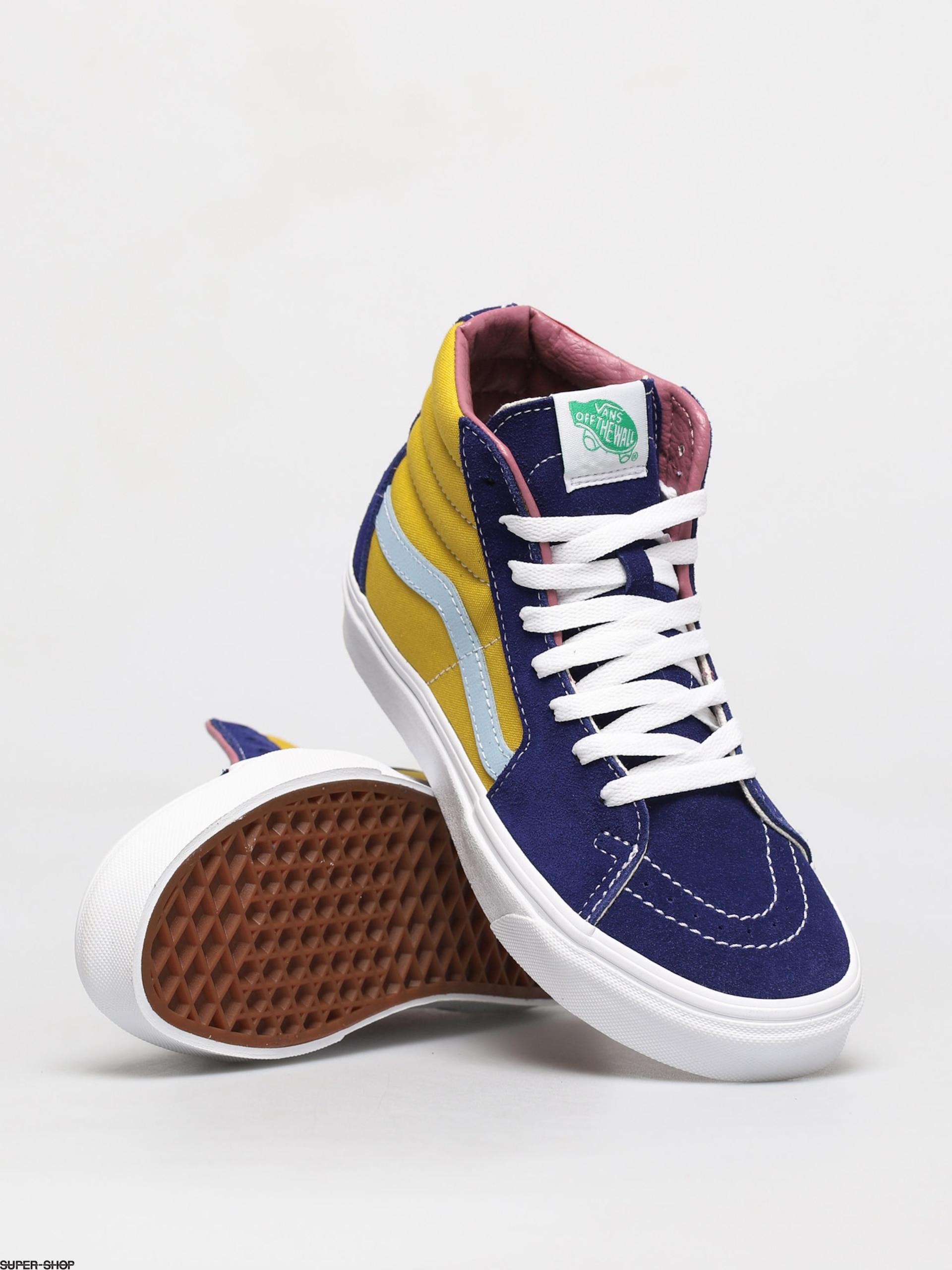 Vans Sk8 Hi Shoes (sunshine mult)