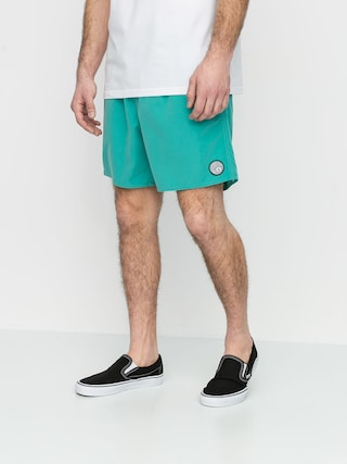 Volcom Lido Solid Trunk 16 Boardshorts (mysto green)