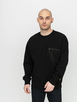 Carhartt WIP Military Mesh Pocket Sweatshirt (black)