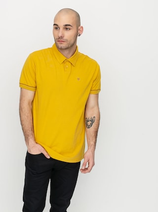 Brixton Carlos Polo t-shirt (sunset yellow)