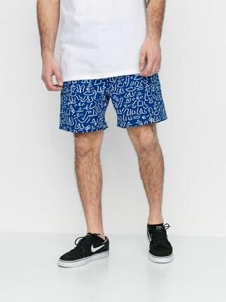 Brixton Steady Elastic Wb Shorts (royal/white)