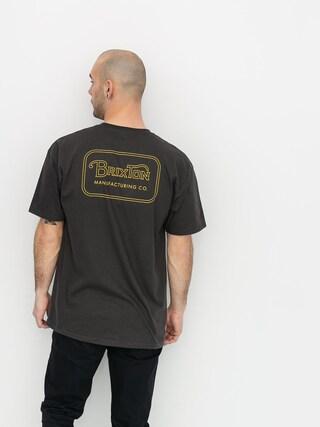 Brixton Grade Stnd T-shirt (washed black/bronze)