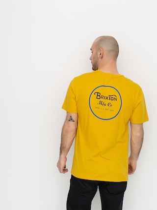 Brixton Wheeler II Prem T-shirt (sunset yellow)