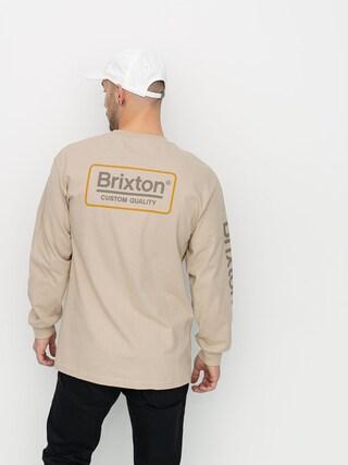 Brixton Palmer II Stt Longsleeve (sand)