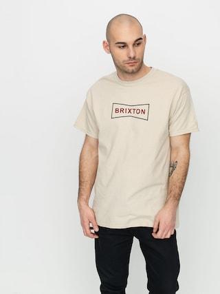 Brixton Wedge II Stt T-shirt (vanilla)