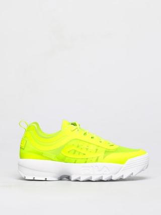 Fila Disruptor Run Shoes (neon lime)