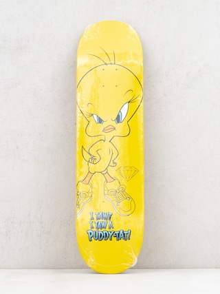 Diamond Supply Co. Puddy Tat Deck (yellow)