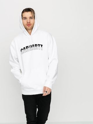 Carhartt WIP District HD Hoodie (white/black)