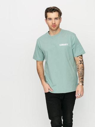 Carhartt WIP College Script T-shirt (zola/white)