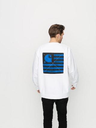 Carhartt WIP State Chromo Sweatshirt (white)