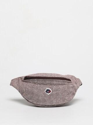 Magenta Hip bag Bum bag (herringbone)