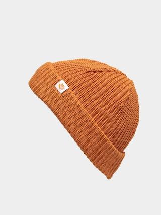 Magenta Low Beanie (orange)