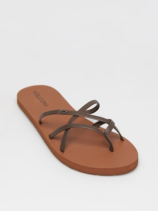 Volcom New School II Flip-flops Wmn (brown)