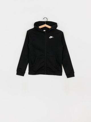 Nike Club JR ZHD Hoodie (black/black/white)