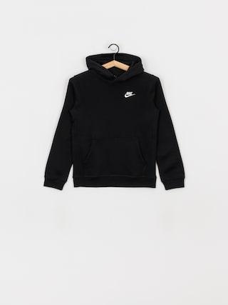 Nike Club JR HD Hoodie (black/white)