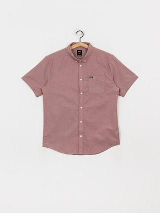 RVCA Thatll Do Stretch Shirt (oxblood red)