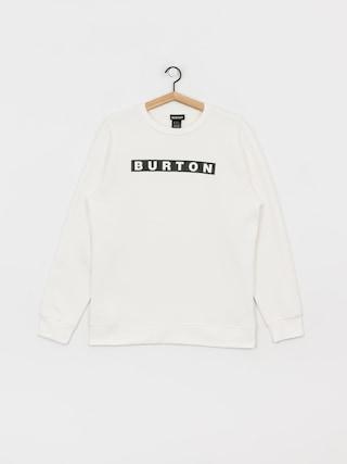 Burton Vault Crew Sweatshirt (stout white)
