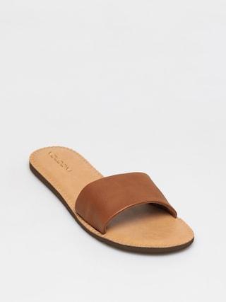 Volcom Simple Slide Flip-flops Wmn (tan)