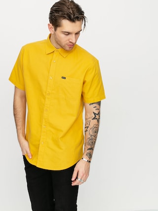 Brixton Charter Oxford Wvn Shirt (sunset yellow)