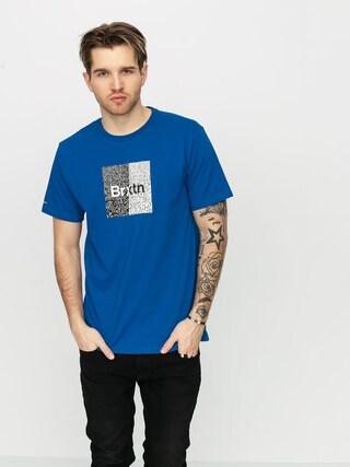 Brixton Crowd Art T-shirt (royal)