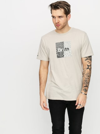 Brixton Crowd Art T-shirt (stone)