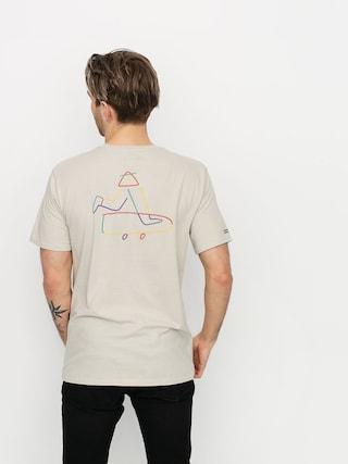 Brixton Beaufort T-shirt (stone)