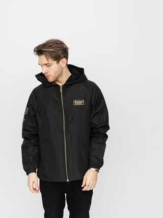 Brixton Claxton Palmer Hood Jacket (black)