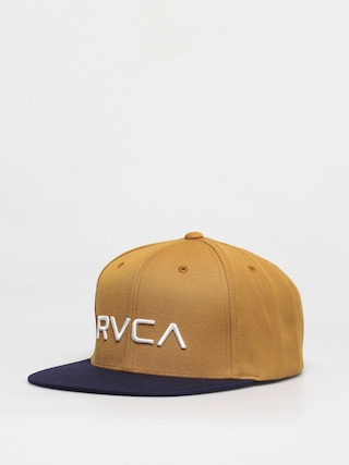 RVCA Rvca Twill Snapback ZD Cap (tan navy)