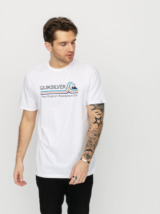 Quiksilver Stone Cold Classic T-shirt (white)