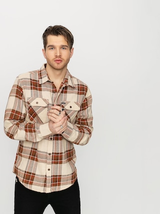Brixton Bowery Flannel Shirt (dove)