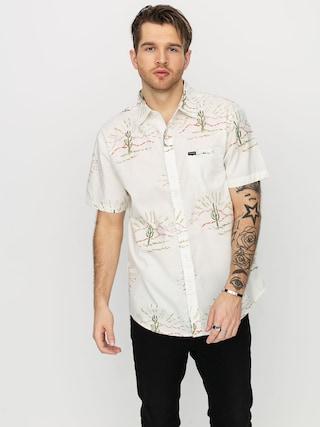 Brixton Charter Print Wvn Shirt (dove)