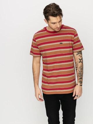 Brixton Hilt Pkt T-shirt (lava red)