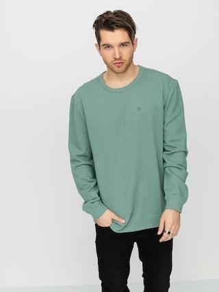 Brixton B Shield Ft Crew Sweatshirt (jade)
