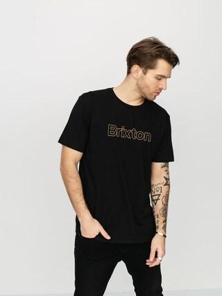 Brixton Barrier Prt T-shirt (black)