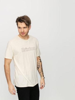 Brixton Barrier Prt T-shirt (dove)