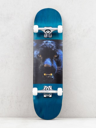 Minilogo Birch 13 Skateboard (chevron panther eyes 2)