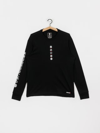 Element Takashi Longsleeve (flint black)
