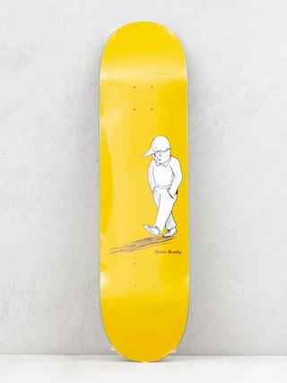 Polar Skate Dane Brady Alone Deck (yellow)