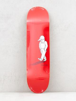 Polar Skate Dane Brady Alone Deck (red)