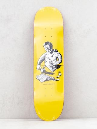 Polar Skate Aaron Herrington Breakfast Deck (yellow)