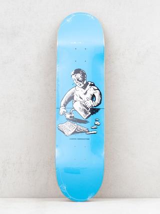 Polar Skate Aaron Herrington Breakfast Deck (blue)