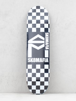 Sk8Mafia House Logo Deck (checker black)