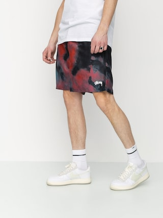 Stussy Dark Dye Water Shorts (black)
