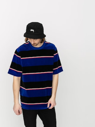 Stussy Velour Stripe T-shirt (blue)