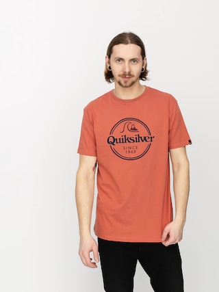 Quiksilver Words Remain T-shirt (redwood)